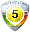 Tellows Score 5 zu 734851560